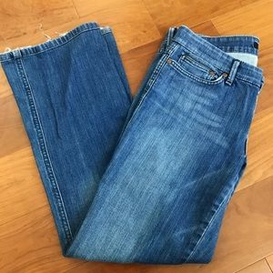 Joe's Jeans Slight-Flare Jeans, Size 29